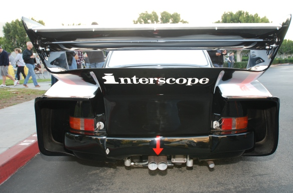 Interscope Racing 1978 Porsche 935_rear view_cars&coffee/irvine_February 15, 2014