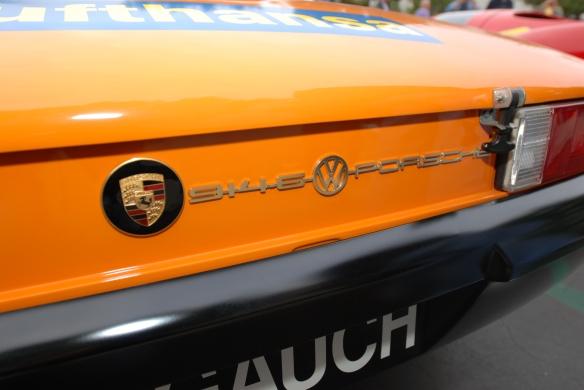 1970 Signal Orange Lufthansa Porsche 914-6 GT _ europe only rear badging_cars&coffee/irvine_january 25, 2014