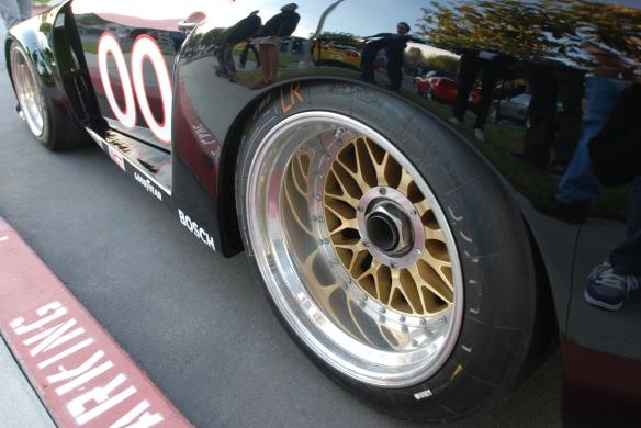 Interscope Racing 1978 Porsche 935_Gold BBS rear race wheel & fender reflections_cars&coffee/irvine_February 15, 2014