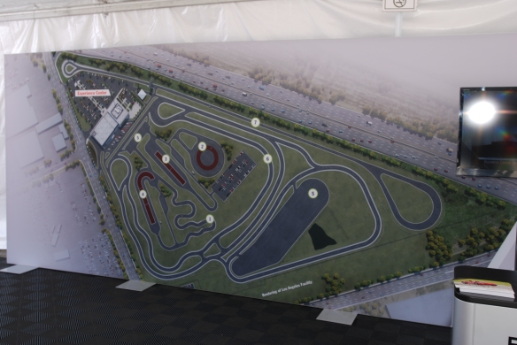 Porsche Experience Center_overview of test track facility_California Festival of Speed_4/5/14