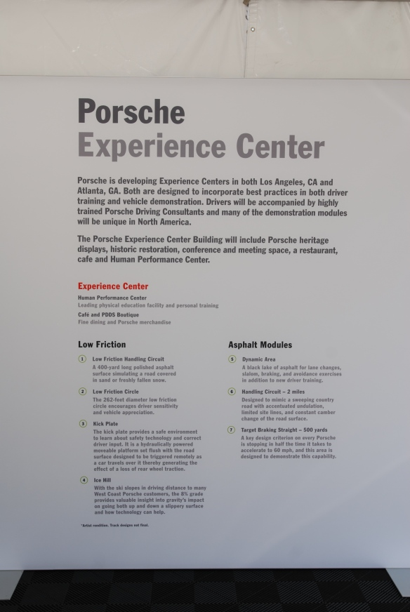 Porsche Experience Center_overview of test track features_California Festival of Speed_4/5/14