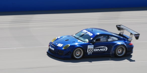 PCA club racing series_ GT3 Cup cars _GMG's #155 GT3R at speed_California Festival of Speed_4/5/14