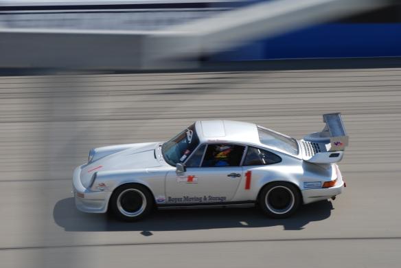 bbi autosport sponsored time trial _Silver Porsche #1 at speed_California Festival of Speed_4/5/14