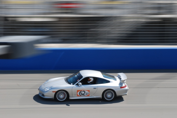 bbi autosport sponsored time trial _Silver Porsche GT3 #62 at speed_California Festival of Speed_4/5/14