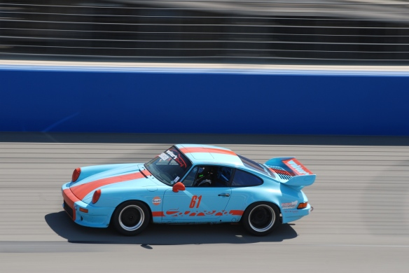 bbi autosport sponsored time trial _Gulf blue and orange #61 at speed_California Festival of Speed_4/5/14