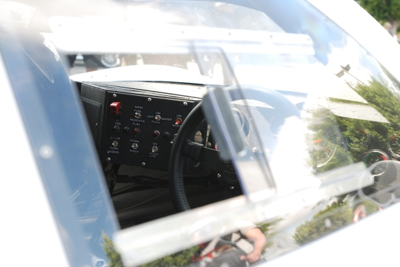 White 1967 Ford GT MK IV_interior shot_cars&coffee/irvine_May 10, 2014