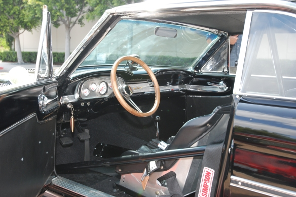 Black 1963 Ford Falcon Sprint /Trans AM racer_interior shot_cars&coffee/irvine_May 10, 2014