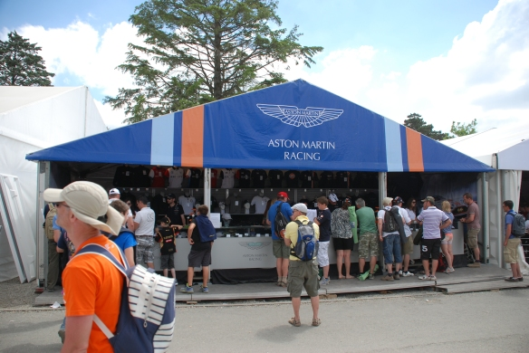 Aston Martin Racing boutique_village infield_Le Mans24_June 14, 2014
