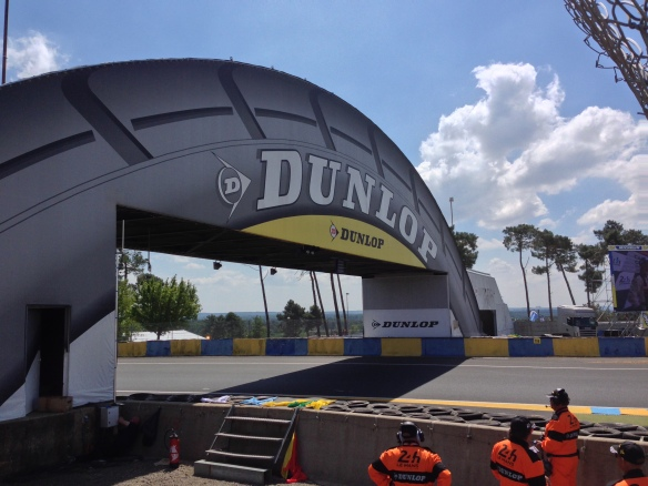 Dunlop Bridge from grandstand side_Le Mans24_June 14, 2014