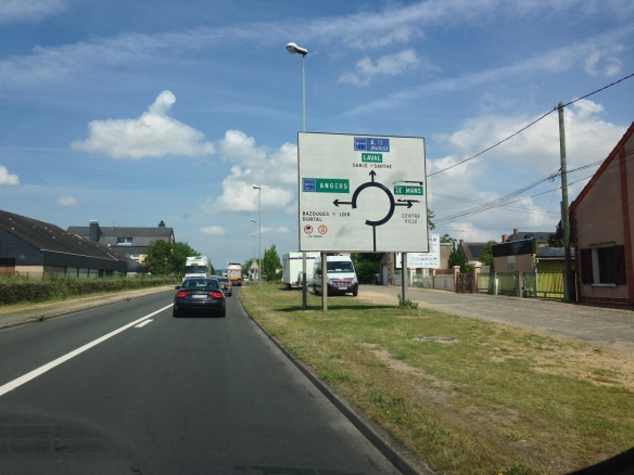 Highway to Le Mans_Le Mans race track roundabout_June 14, 2014