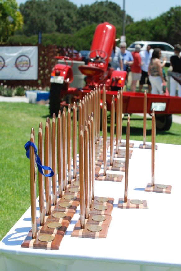 Concours trophy table display__2014 Dana Point concours_July 20, 2014